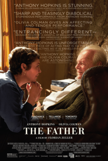 FATHER (THE) 2021 HD iTunes DIGITAL COPY MOVIE CODE (DIRECT IN TO ITUNES) CANADA