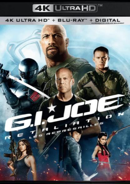 G.I. JOE RETALIATION 4K UHD VUDU or 4K UHD iTunes (USA) / 4K UHD iTunes (CANADA) DIGITAL COPY MOVIE CODE (READ DESCRIPTION FOR REDEMPTION SITE)