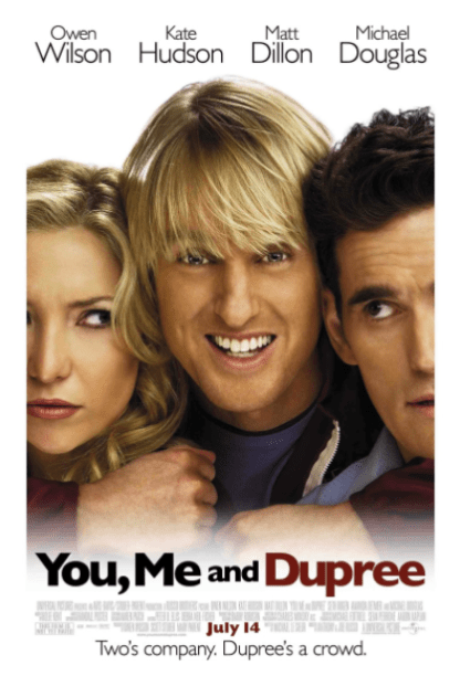 YOU ME AND DUPREE MOVIES ANYWHERE DIGITAL MOVIE CODE ONLY (MOVIES ANYWHERE) USA