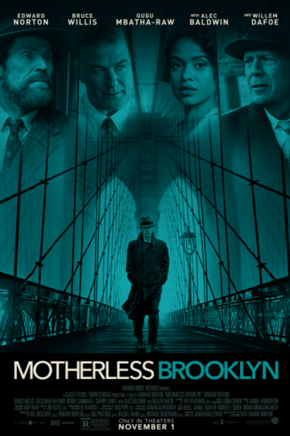 MOTHERLESS BROOKLYN GOOGLE PLAY DIGITAL MOVIE CODE ONLY (DIRECT IN TO GOOGLE PLAY) CANADA