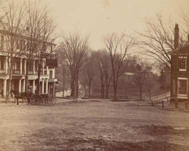 Amherst in the 19th century, from the Class Albums collection