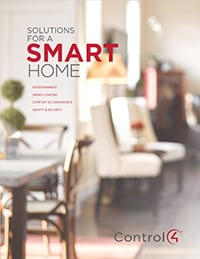 Control4 Solutions for a Smart Home Brochure