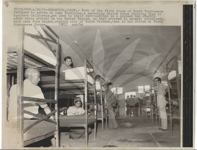 Quot South Vietnamese Refugees At Camp Pendleton Quot