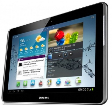 Samsung Galaxy Tab 2 Specifications (ICS)