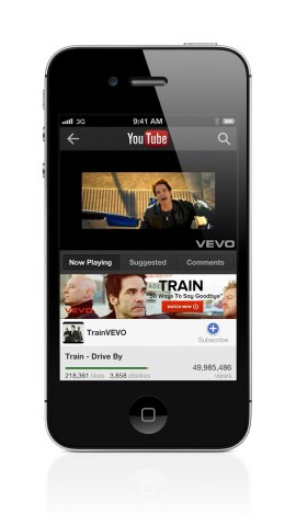 Youtube app for Apple New iPhone 5