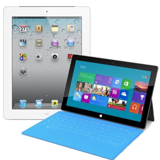 Surface RT Vs. Apple iPad