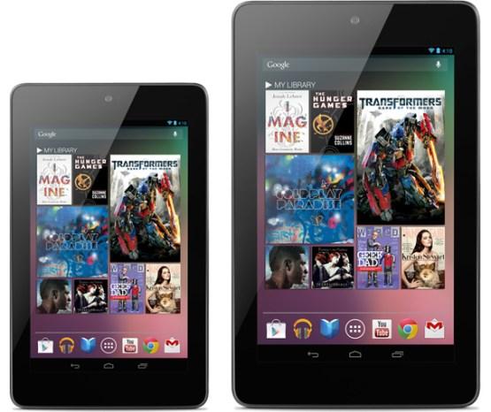 Nexus 7 & Nexus 10