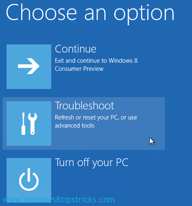 How to Start Microsoft Windows 8 in Safe Mode [Step by Step Tutorial] 2
