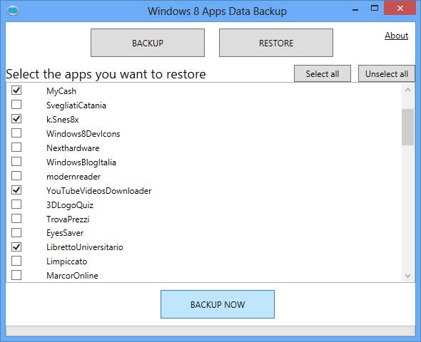 Backup & Restore Windows Phone 8 Data