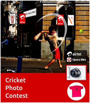Aitel Cricket Photo Contest