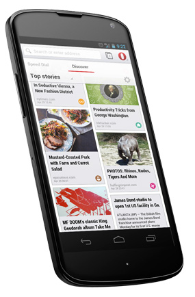 Opera For Android - New Interface
