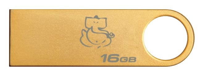Kingston Limited Edition Gold Pen Drive