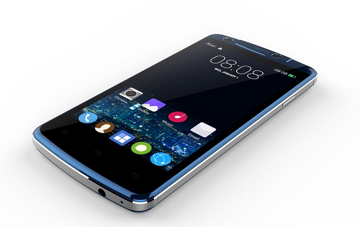 T Series SS909 Smartphone - blue color