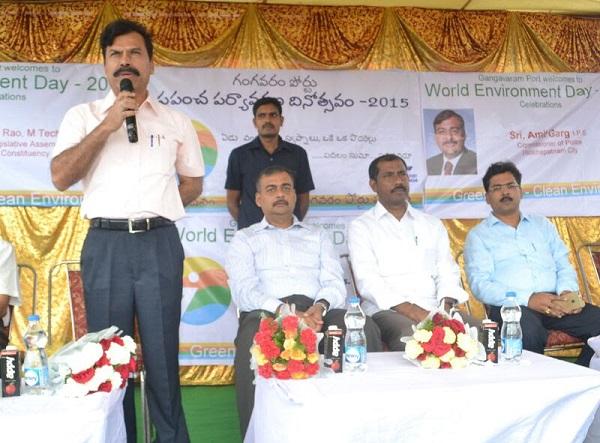 Mr. Palla Srinivas, MLA along with GPL Official