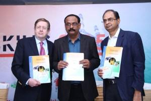 L-R Dr. Richard Oliver, Dr.  Ravi K Reddy, Mr.Ravindra Vikram
