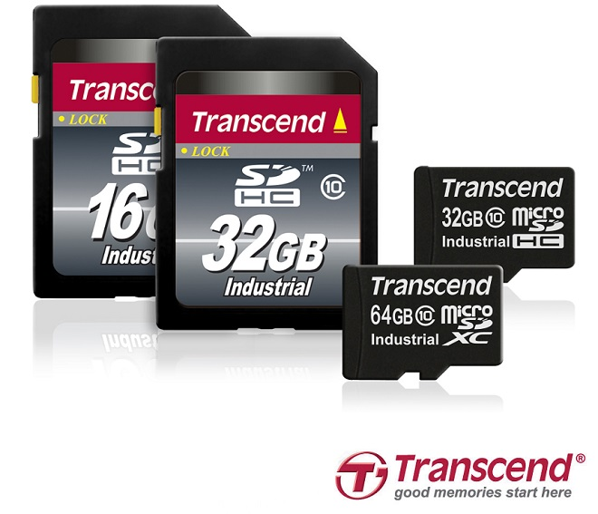 Transcend microSDXC 10I
