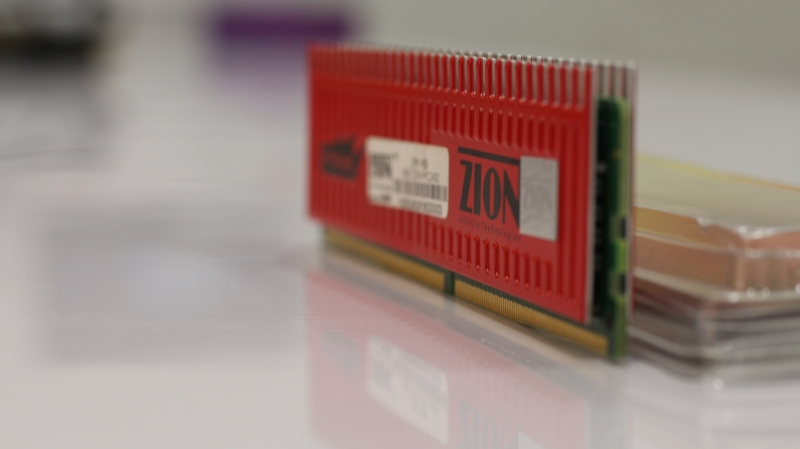 Heatsink Design of Zion RAM