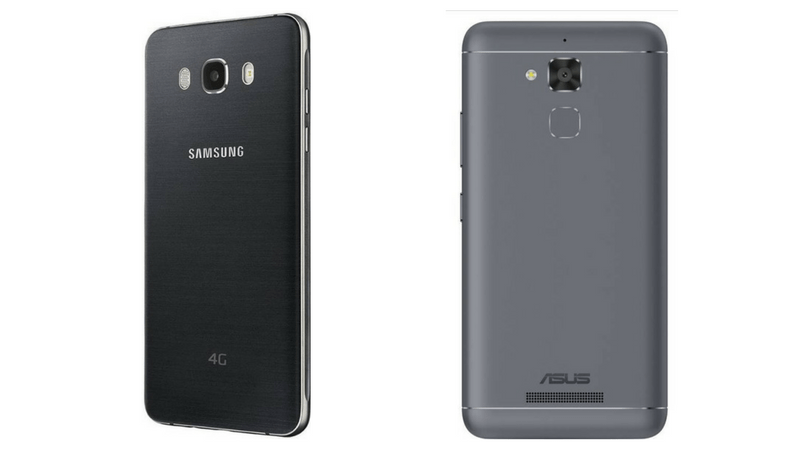 Samsung Galaxy J7 vs Zenfone Max 3 Comparison