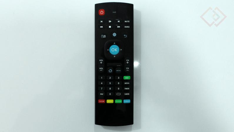 noble skiodo 32-inch tv remote