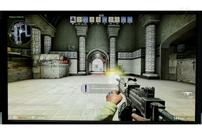 Gaming on Zowie XL2735 Monitor