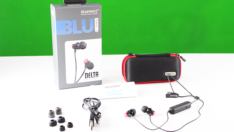 brainwavz blu delta earphone accessories