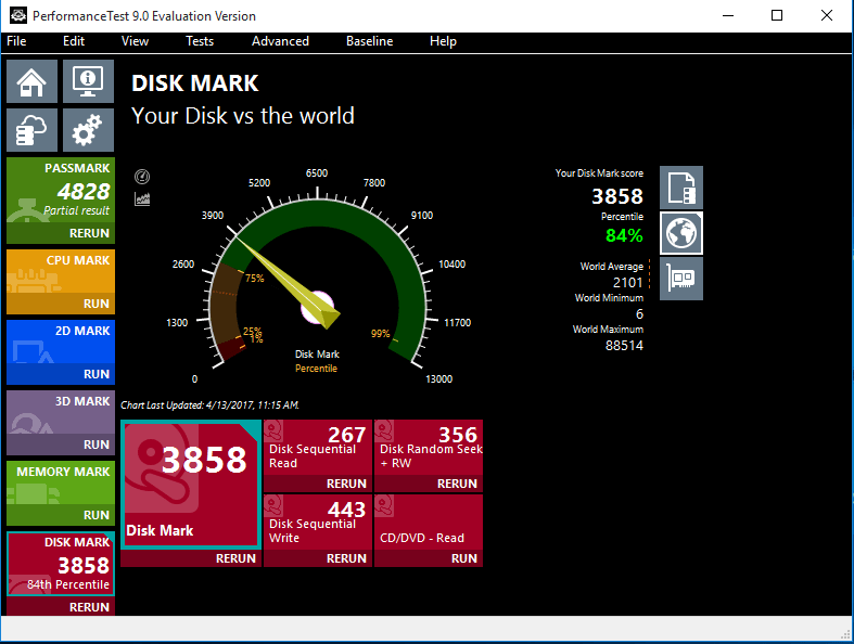 wd blue ssd benchmarks