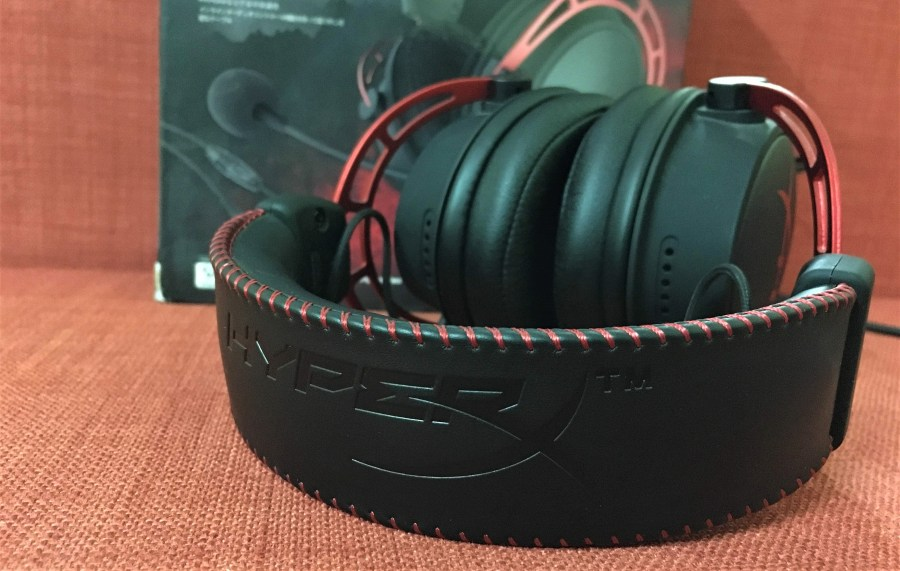 HyperX Cloud Alpha Gaming Headset Leather Cushioning