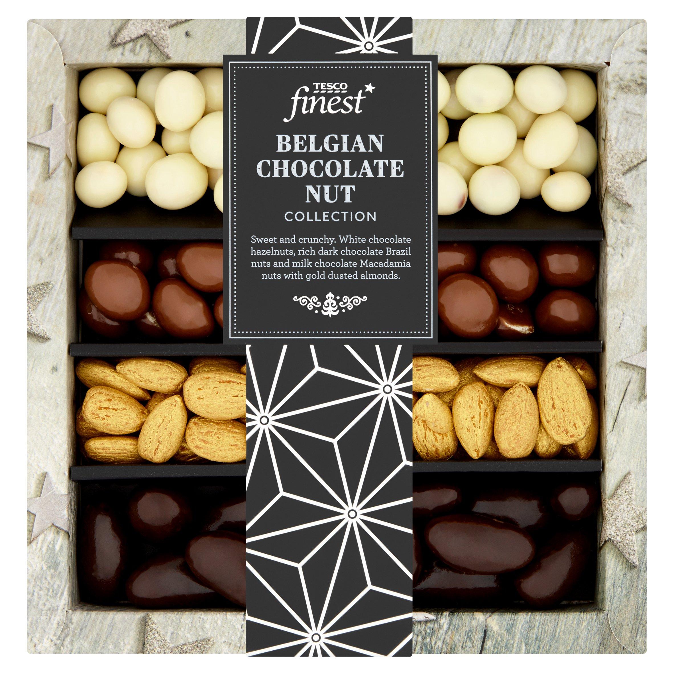 Tesco Finest Belgian Chocolate Nut Tray 285G
