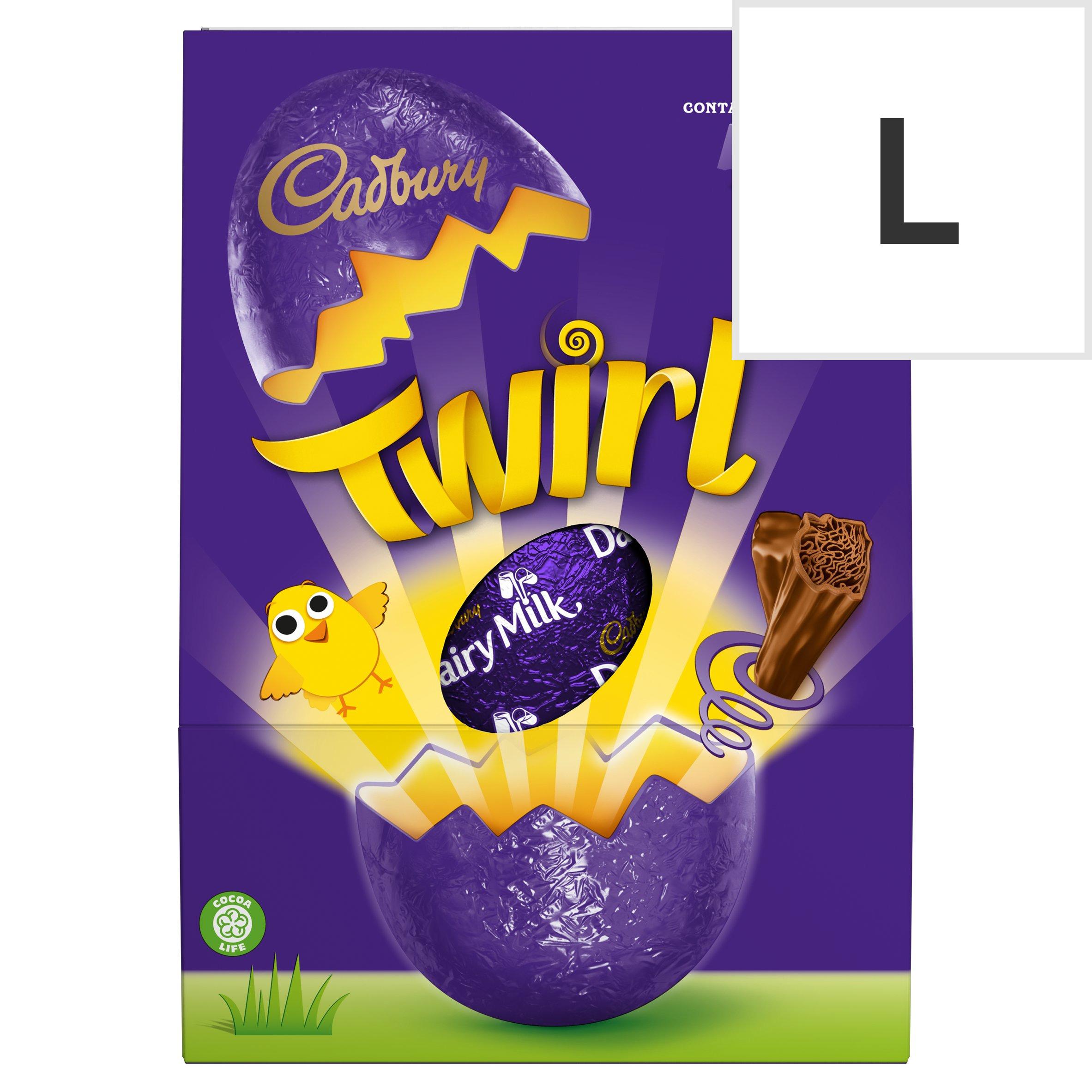 Cadbury Twirl Easter Egg 237G