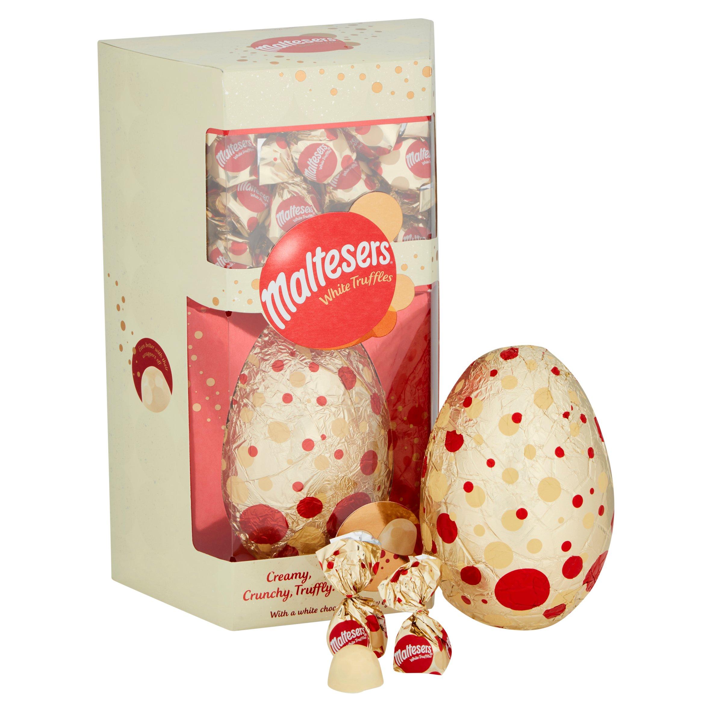 image 1 of Maltesers White Chocolate Egg With White Truffles 287G