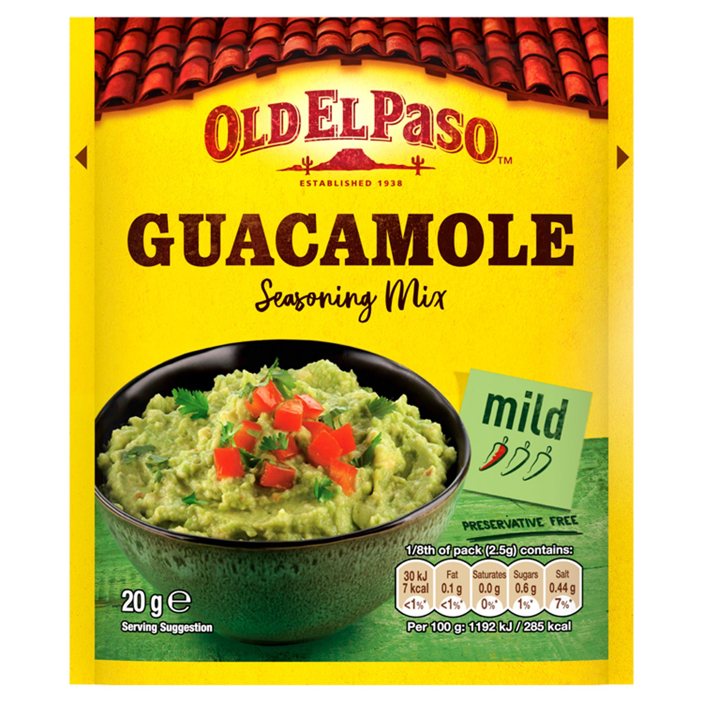 Old El Paso Guacamole Seasoning Mix 20G