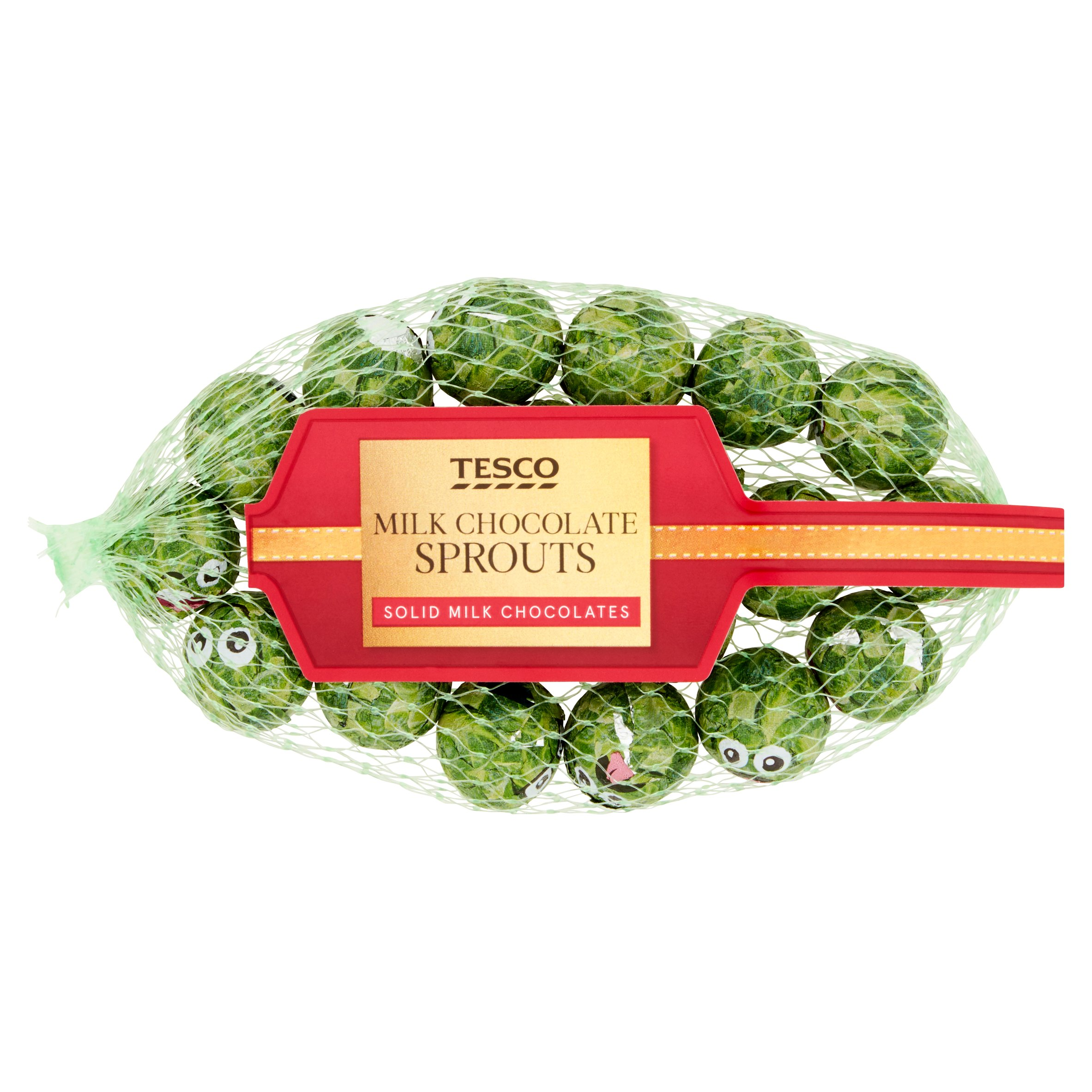 Tesco Milk Chocolate Sprouts 85G