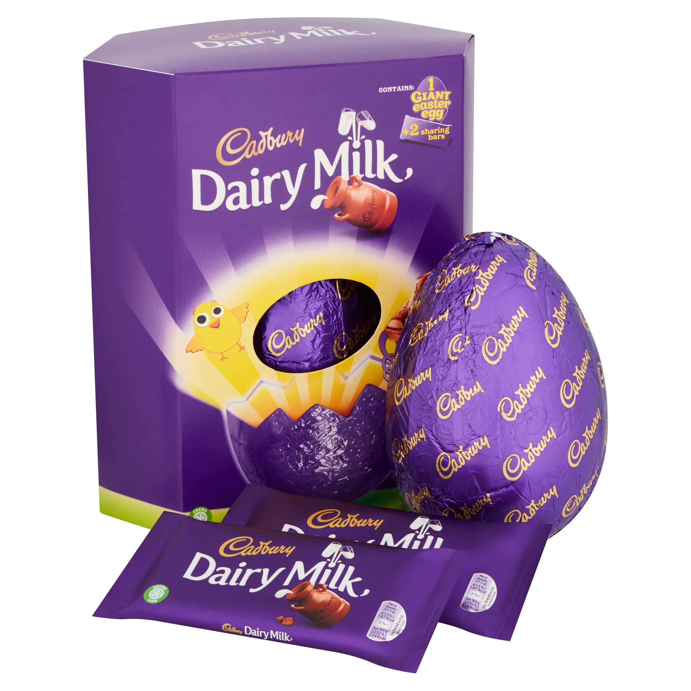 Cadbury Dairy Milk Extra Large Easter Egg 515G