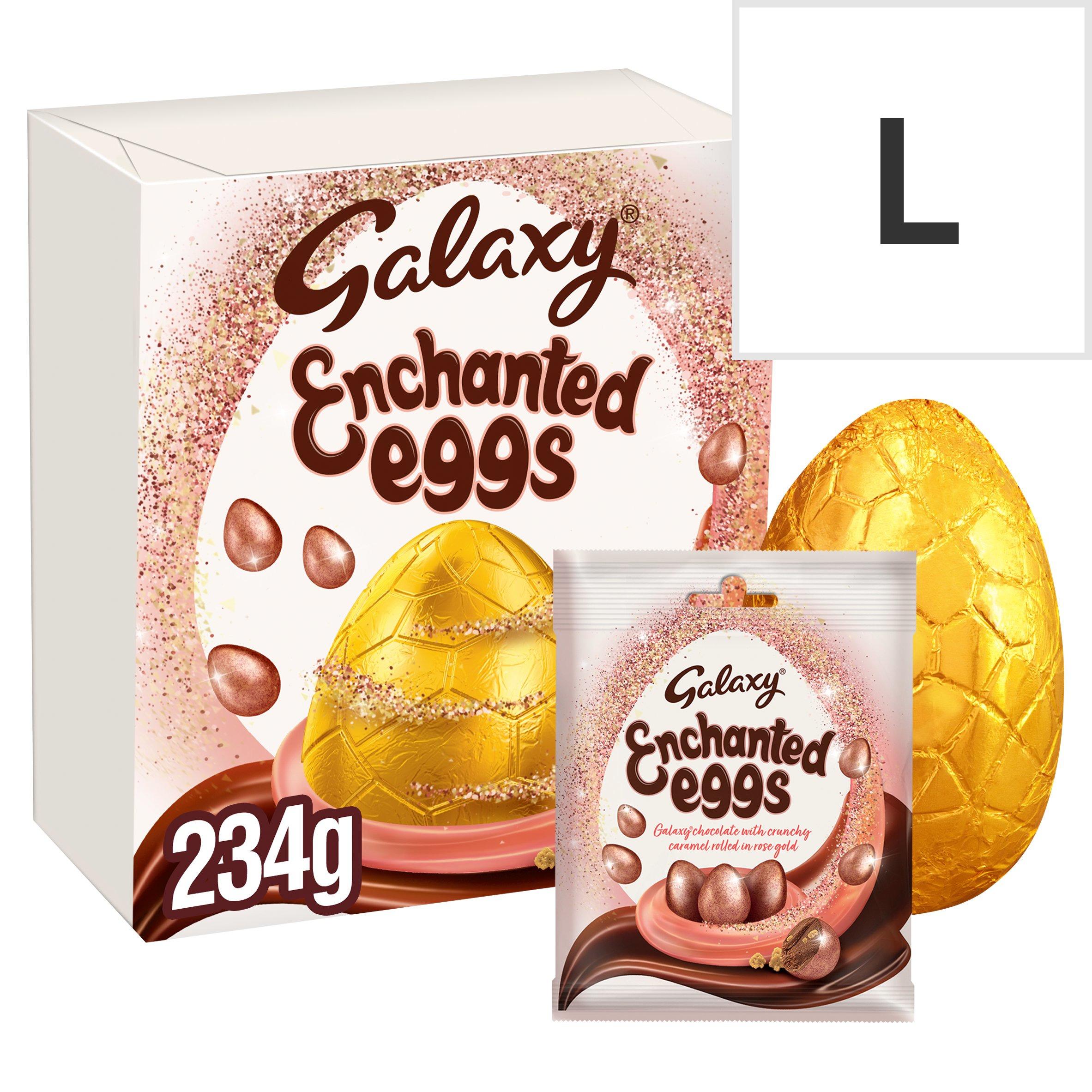 Galaxy Milk Chocolate Egg & Enchanted Milk Chocolate Eggs 234G