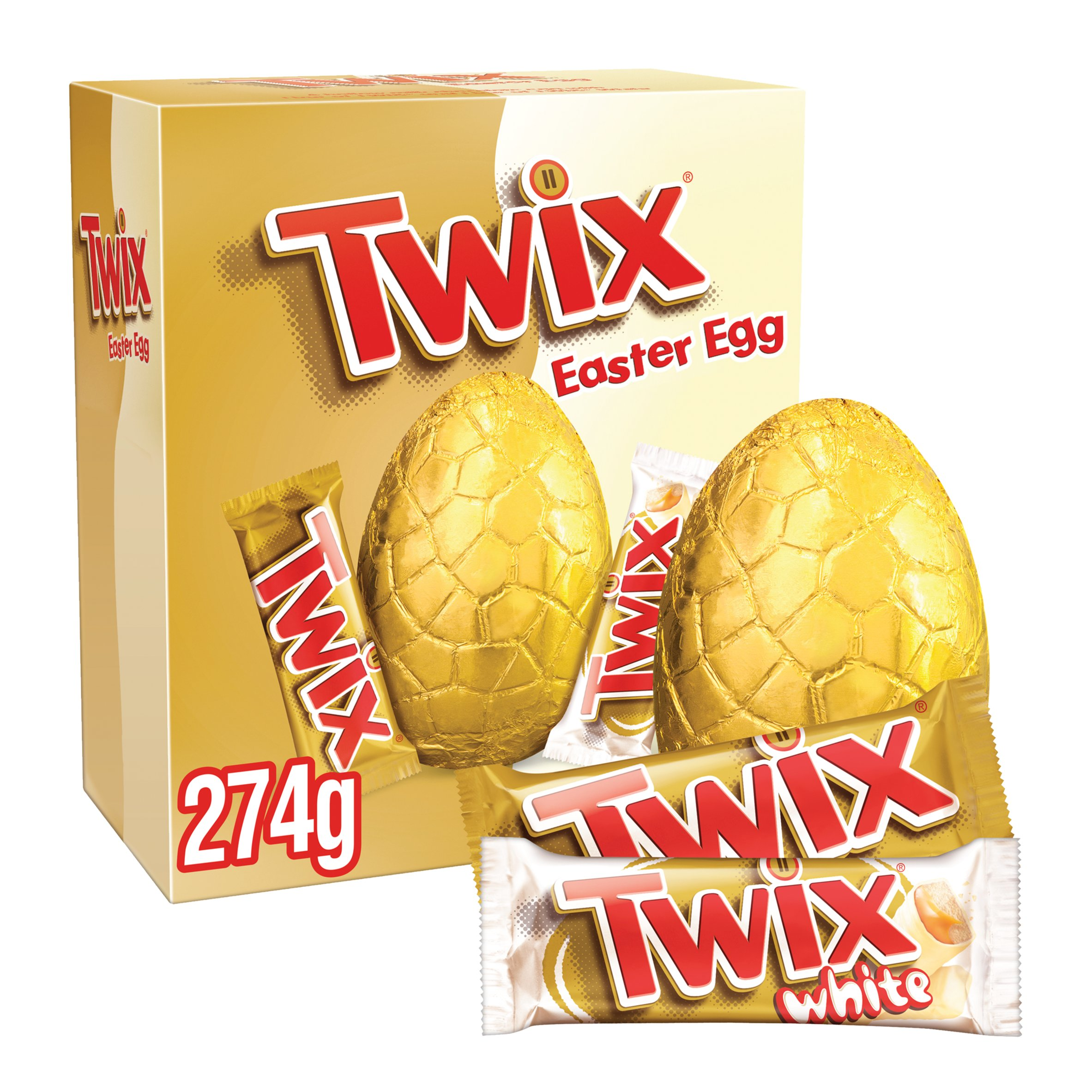 image 1 of Twix Large Easter Egg 274G