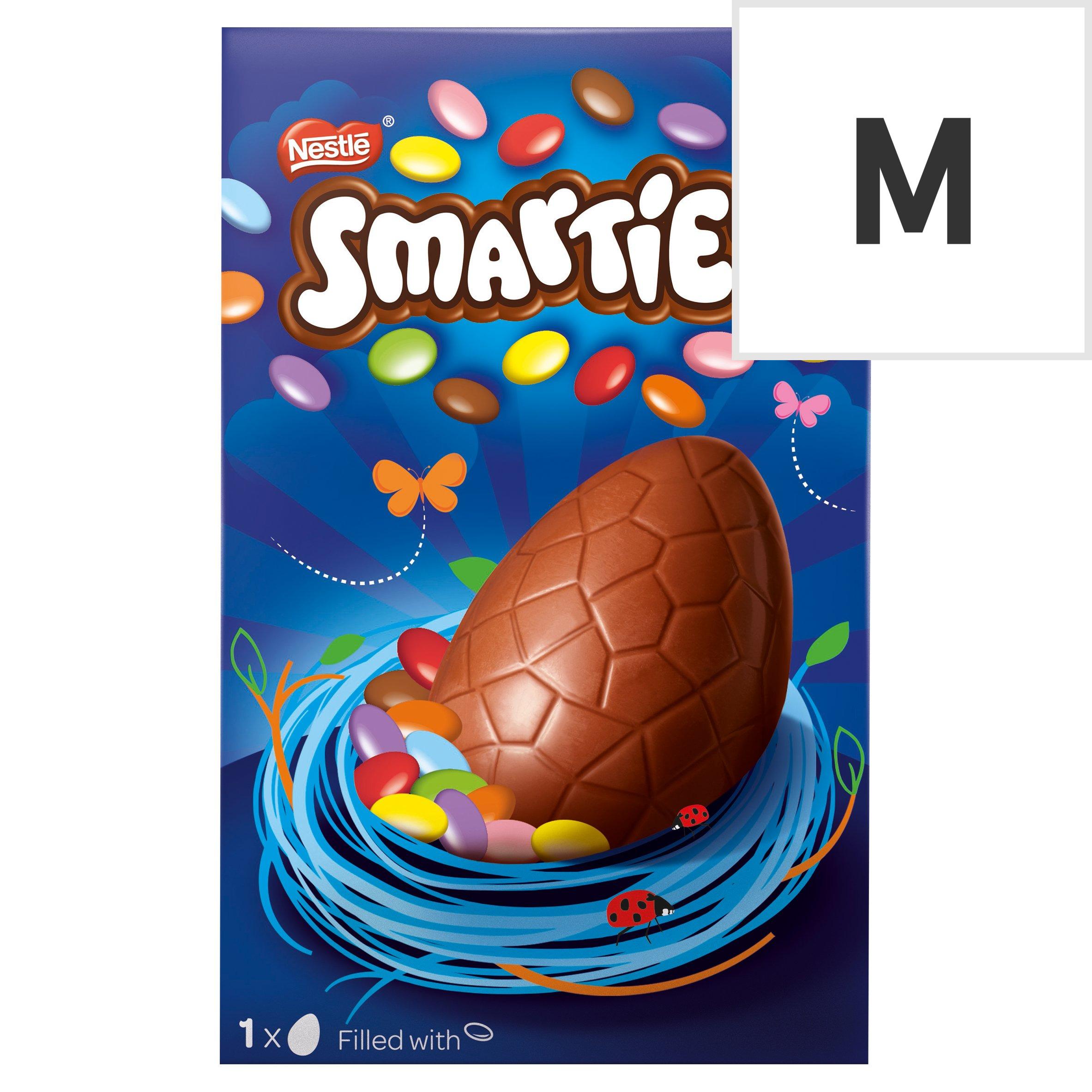 image 1 of Smarties Milk Chocolate Easter Egg 119G