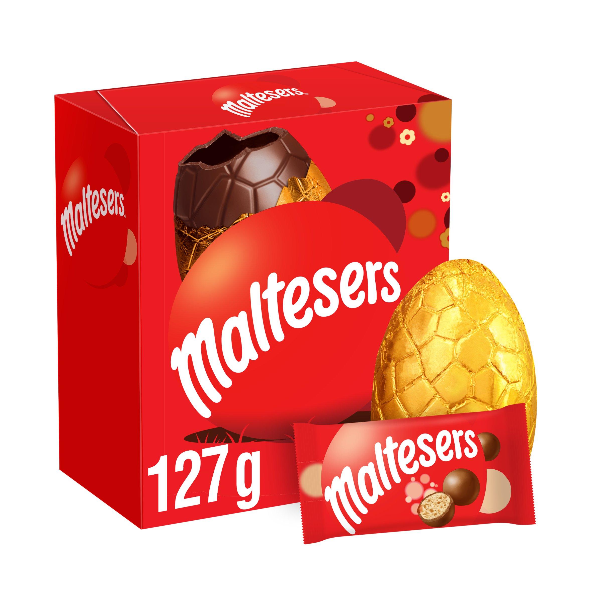 Maltesers Milk Chocolate Easter Egg & Chocolate 127G