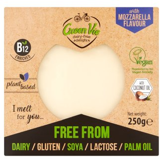Green Vie Vegan Mozzarella Flavour Block 250G