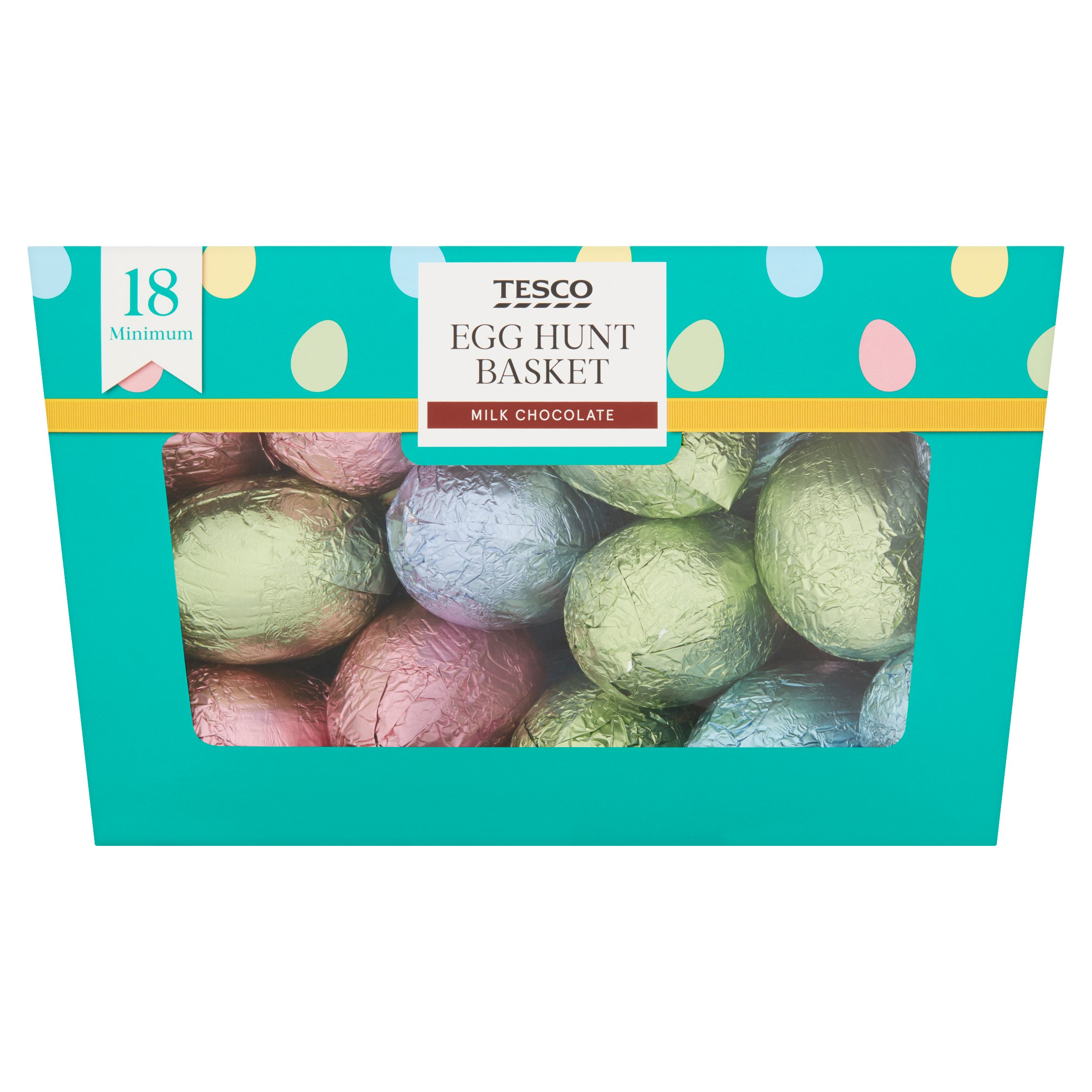 Tesco Egg Hunt Basket 340G
