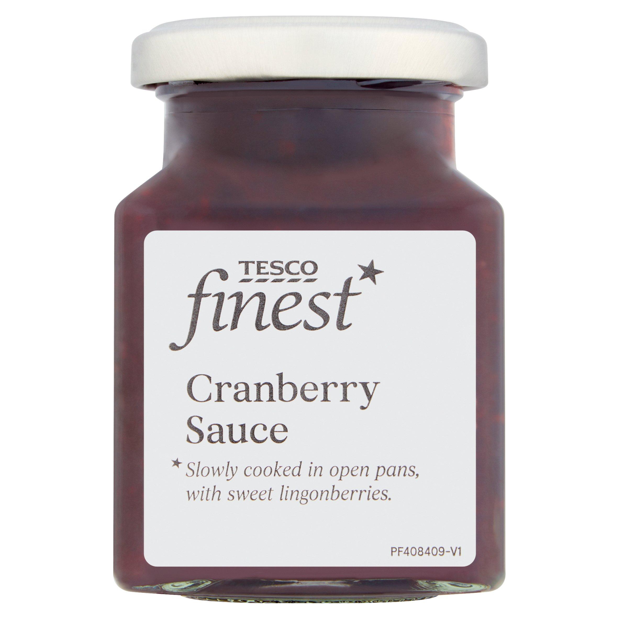Tesco Finest Cranberry Sauce 220G