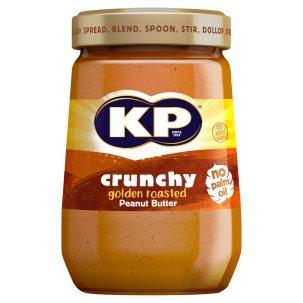 Kp Crunchy Peanut Butter 340G