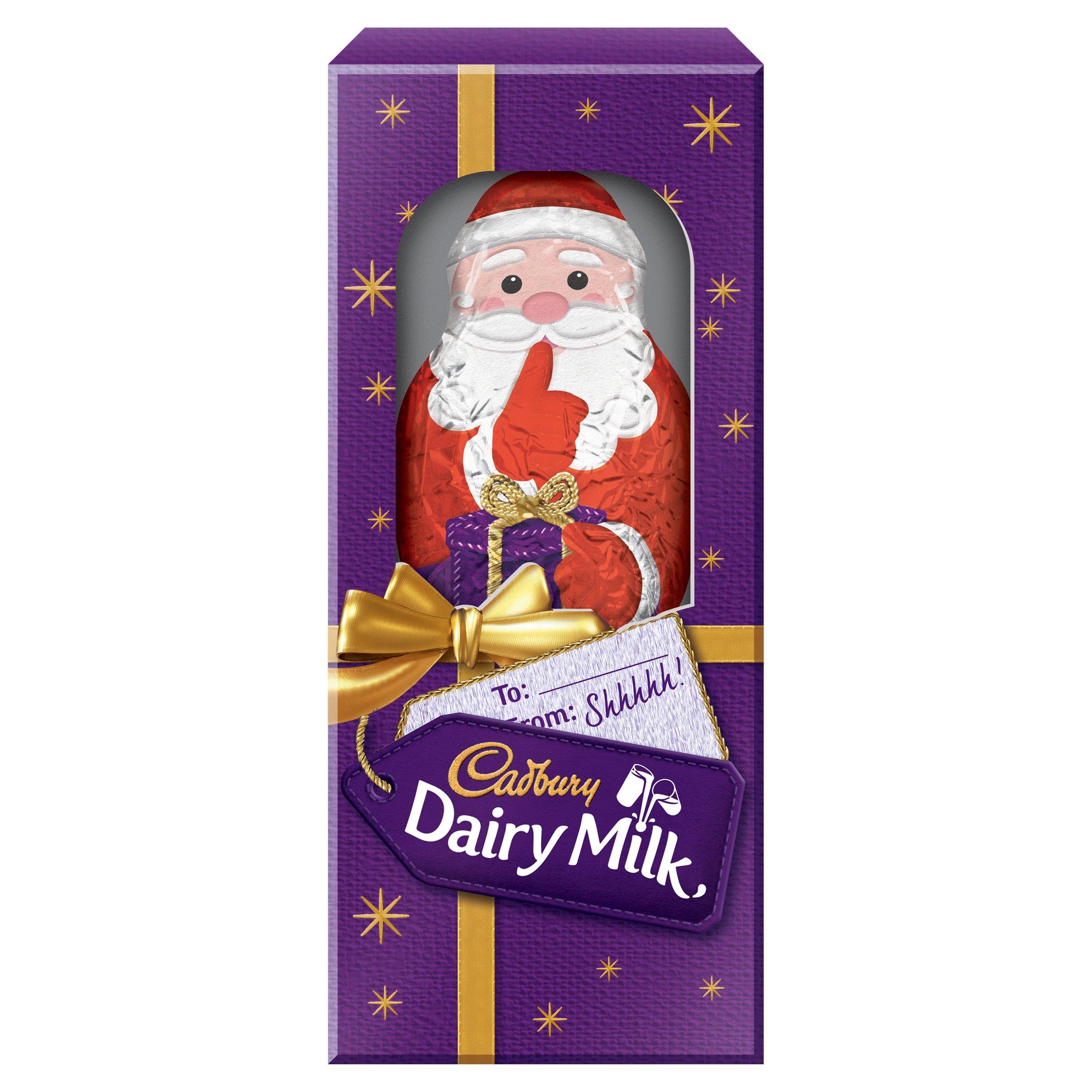 image 1 of Cadbury Dairy Milk Hollow Milk Chocolate Santa 175G