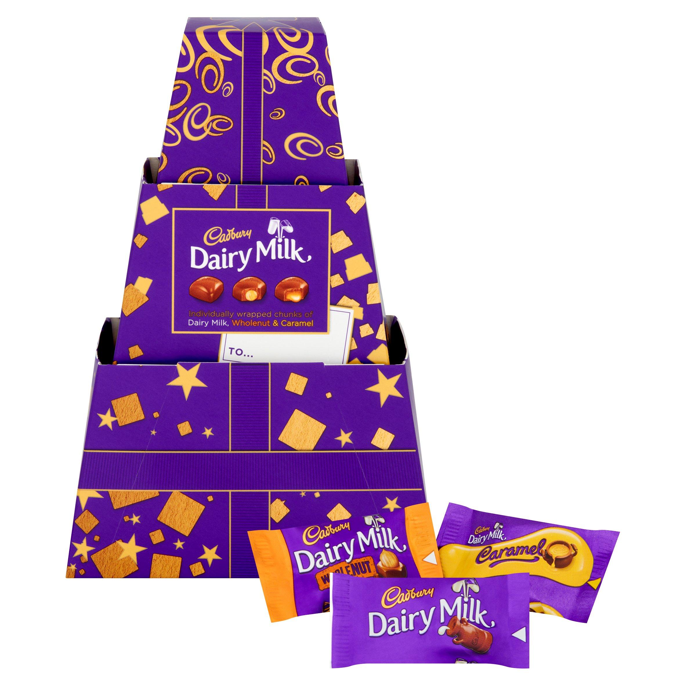 Cadbury Dairy Milk Chunks Gift 250G