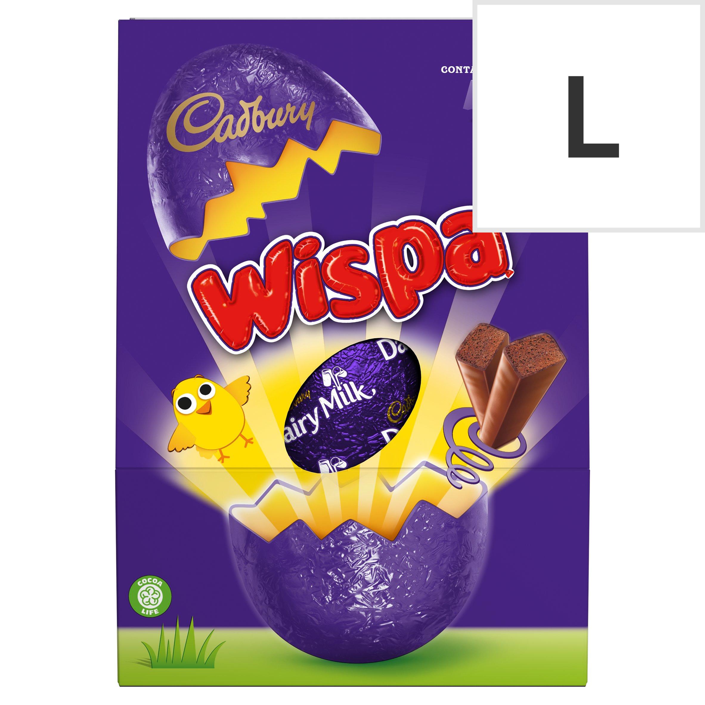 Cadbury Wispa Chocolate Egg 224G