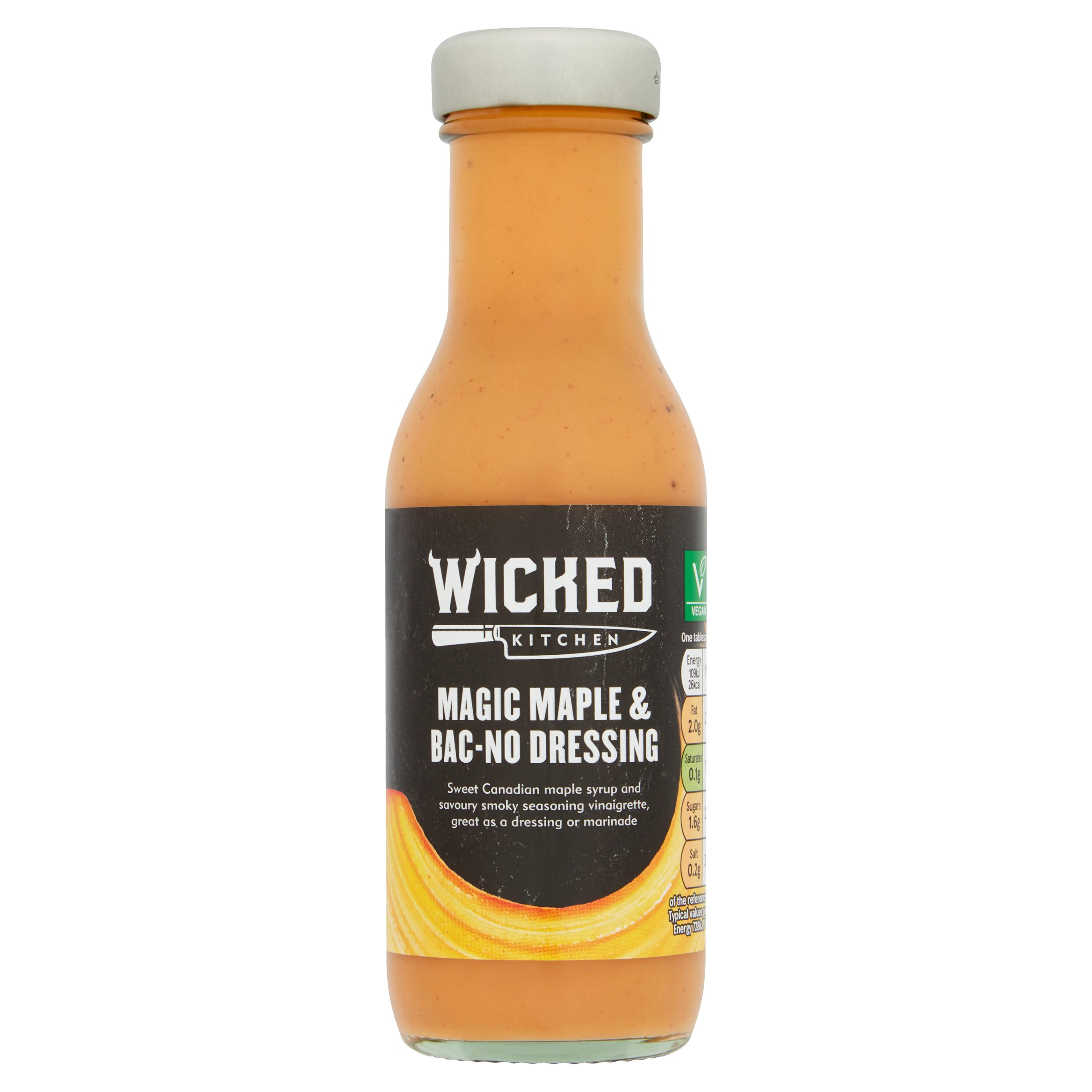 Wicked Kitchen Magic Maple & Bac-No Dressing 250Ml