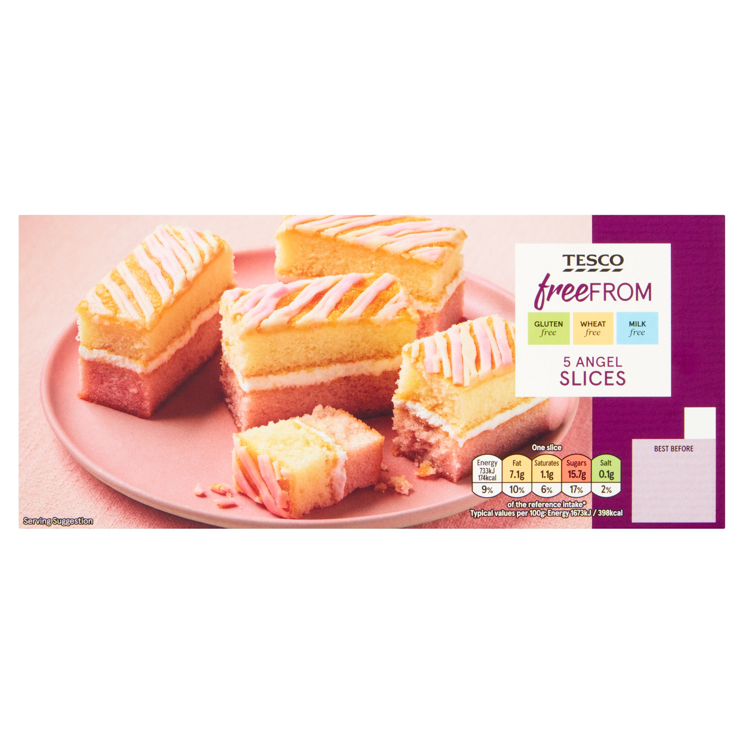 Tesco Free From 5 Angel Slices