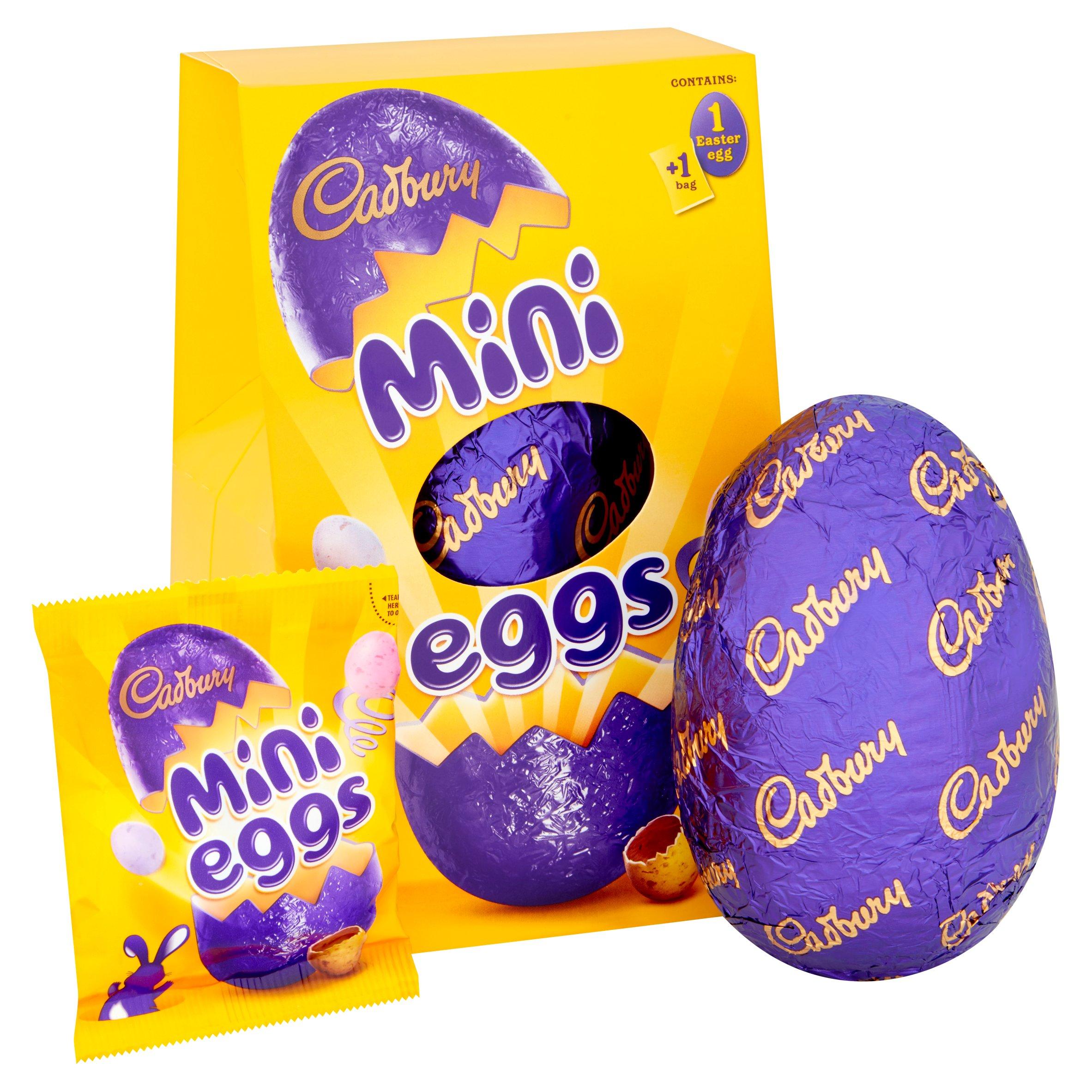 Cadbury Mini Eggs Medium Easter Egg 130G