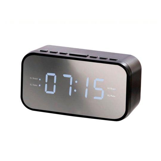 Tesco Mirror Clock Radio Groceries