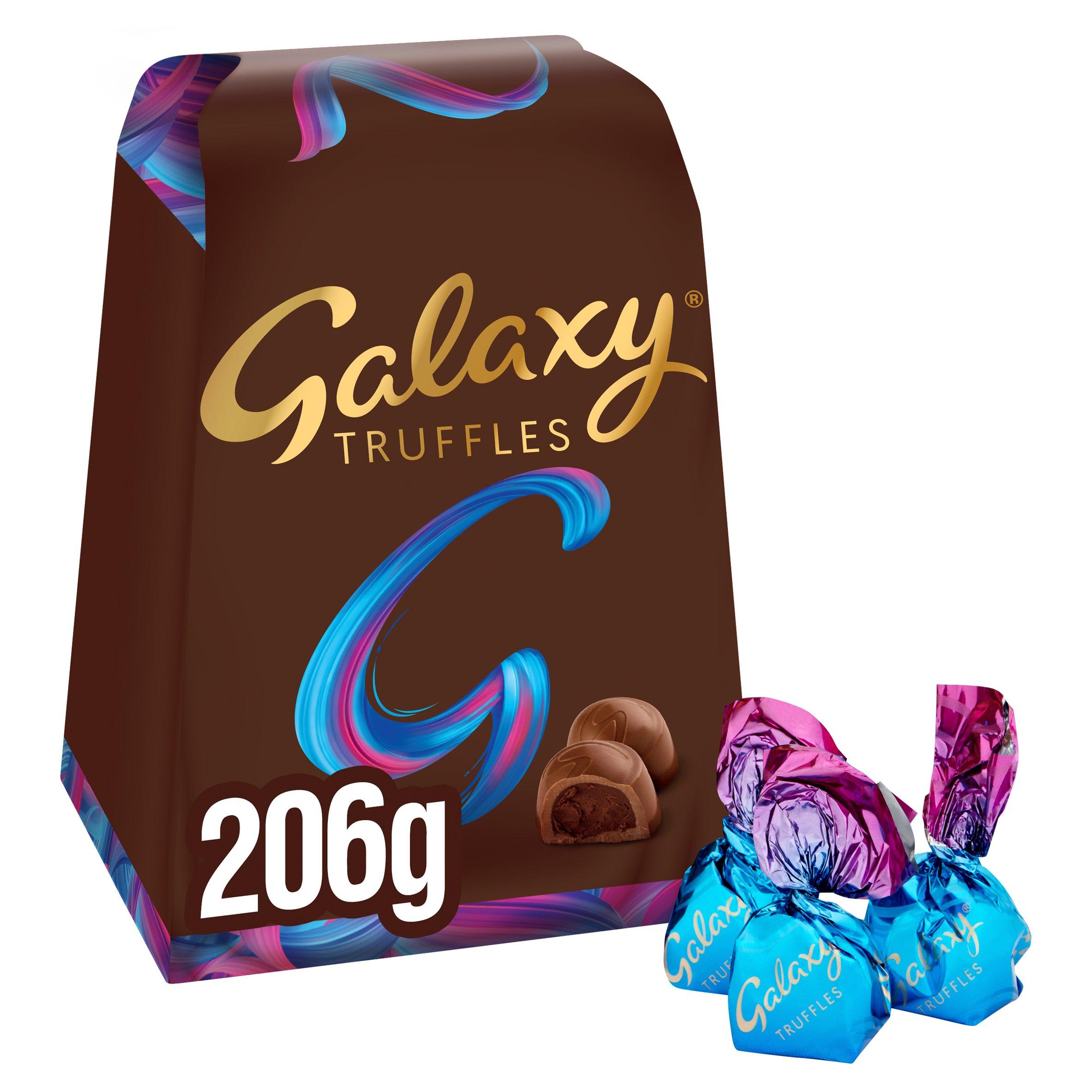 image 1 of Galaxy Milk Chocolate Truffles 206G