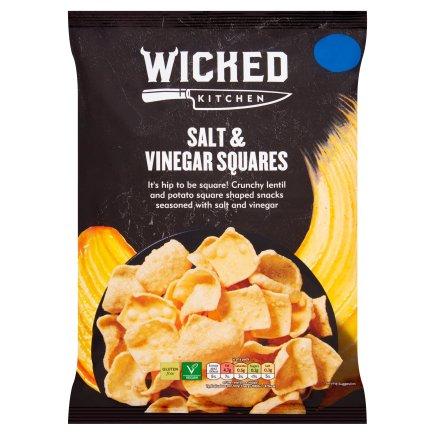 Wicked Kitchen Salt & Vinegar Squares 85G